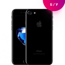 Смартфон Apple iPhone 7 128 гб Jet Black «Черный оникс»