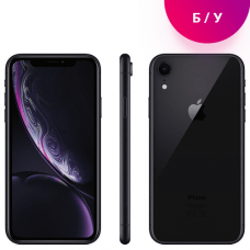 Apple iPhone XR 64GB Black Б/У