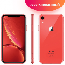 Apple iPhone XR 64GB Corall Восстановленный
