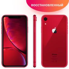 Apple iPhone XR 64GB Red Восстановленный
