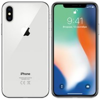 Apple iPhone X 64GB Silver как новый